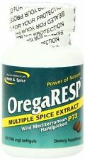 North American Herb and Spice OregaRESP - 60 Softgels Exp. Dates 03/2017