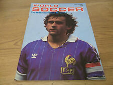 Football Magazine World Soccer April 1983 Bobby Charlton Gerets Oganessian Roste