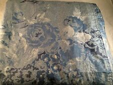 RALPH LAUREN HOME INDIGO MONTAUK BLUE FLORAL QUEEN /FUL DUVET COVER $355