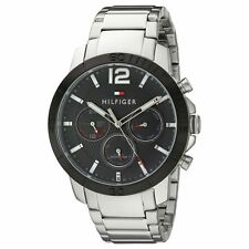 Tommy Hilfiger 1791272 Gent's Holden Black Dial Day Date Watch