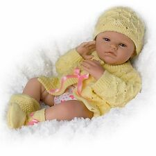 Lily Charlotte Realistic Newborn Baby Girl Doll Is Fully Poseable Ashton Drake