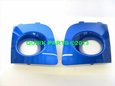 2006-2007 Subaru Impreza RH & LH Sides Rally Blue Fog Lamp Covers OEM NEW