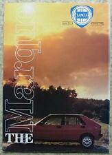 The MARQUE LANCIA In House Magazine AUTUMN 1986 Delta S4 THEMA 8:32 Rallying