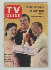 TV Guide 1960 Magazine #376 Bachelor Father Roger Moore Audrey Meadows