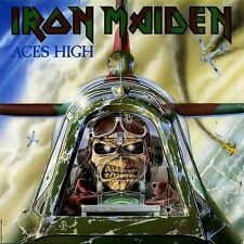 Iron Maiden - Aces High EP Vinyl LP Heavy Metal Sticker Or Magnet
