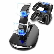 Dual Fast Charging Dock Station Stand Charger for Sony PS4/Slim/Pro Controller