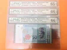 XT 3 PCS RM 50 11TH SERIES ZETI REPLACEMENT ZB 1 ZERO PMG65 ~ 66 EPQ GEM UNC