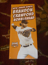 BRANDON CRAWFORD SAN FRANCISCO GIANTS SF SGA JUNIOR 2016 BOBBLEHEAD NIB NEW