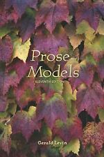Prose Models by Gerald Levin (2001, Paperback, Revised)