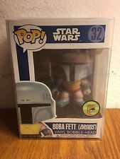 Funko Pop Star Wars 32 Boba Fett Droids 2013 SDCC 480 Piece Limited Free Ship