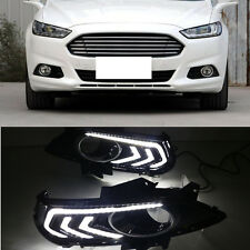 For Ford Mondeo / Fusion 2013-2016 2PCS White LED DRL Daytime Running Light