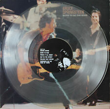 "Vinyle 33T Bruce Springsteen  ""Born to be the boss - Live"" TRES RARE color disc"