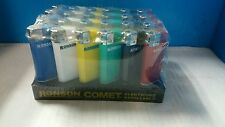 24 Ronson Comet Electronic Refillable Lighter Regular Size