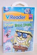 """NEW! V.Reader """"Sponge Bob Model Sponge"""" Interactive E-Reading Cartridge {2879}"""
