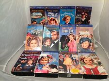 Lot Shirley Temple VHS Movies 12 Family Feature Films By 20th Century Fox