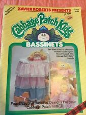Cabbage Patch Kids Bassinets 1984 Patterns Ready To Cut Craft Booklet