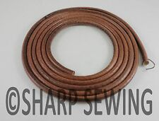 "66-68"" LEATHER BELT SINGER TREADLE SEWING MACHINE HIGH QUALITY - 3/16"" (5mm)"