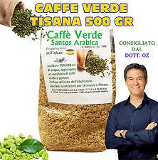 CAFFE VERDE DIMAGRANTE BRUCIA GRASSI DIETA PERDI PESO TISANA No Pillole 500 GR