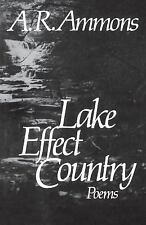 Lake Effect Country: Poems, Very Good Books
