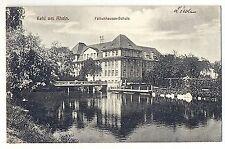 Y 120 - Kehl - Falkenhausen - Schule, 1924 französisch beschriftet