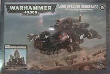 Warhammer 40K Dark Angels Land Speeder Vengeance /  Ravenwing Darkshroud  NEW