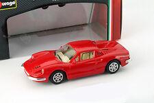 Ferrari Dino 246 GT rouge 1:43 Bburago