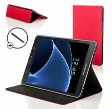 Red clam shell smart case cover Samsung Galaxy Tab A 7.0 SM-T280 + stylet