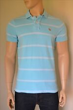Ruehl No. 925 By Abercrombie & Fitch Polo Shirt Light Blue Stripe XL RRP £70
