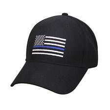 Thin Blue Line USA Flag Ball Cap Law Enforcement Police Support ICE DHS SWAT Hat