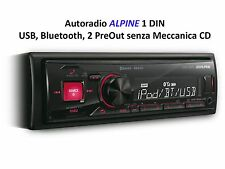 AUTORADIO ALPINE UTE-72BT BLUETOOTH USB AUX e 2 PRE OUT - SPEDIZIONE GRATIS