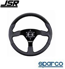 Sparco L505 3-Spoke Steering Wheel Alcantara & Black Leather PN: 015TL522TUV