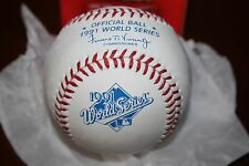Rawlings Official 1991 WORLD SERIES Baseball  New in Box   MINT CONDITION