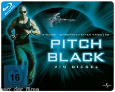 PITCH BLACK (Limited Quersteelbook-Edition) Blu-ray OVP