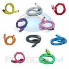 NEW 8 Pin Braided USB Sync Data Cable Charging Power Cord for iPhone 5 6 6s