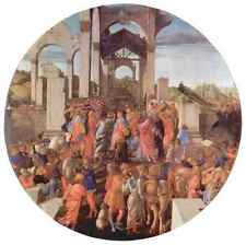A3 Box Canvas Adoration of the Magi London 2 by Botticelli