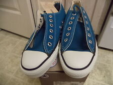 VINTAGE NEVER USED WITH BOX CONVERSE CHUCK TAYLOR MADE IN USA BRIGHT BLUE 6