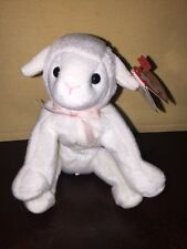 2003 TY BEANIE BASKET BABY - LULLABY  - LAMB - GREAT FOR EASTER BASKET-NWT