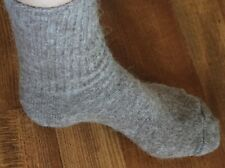 ALPACA / MERINO WOOL TRAIL / HIKING CREW SOCKS BROWN FITS 9 TO 11 SHOE