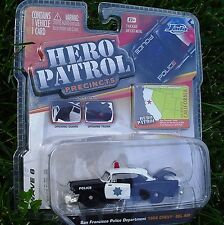 HERO PATROL 6. 1:64. San Francisco Police. 1955 Chevy Bel Air. NEW in Package!