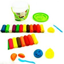 15Pcs Play Dough Doh Clay Modeling Cutter Tool Set  Craft Children Kids Toys SMS