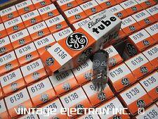 NOS 6136 (6AU6WA 6AU6 EF94) Vacuum Tubes - GE - USA - 1981 ($9.95/ea, TESTED)