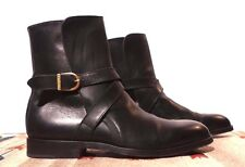 Vintage Blackstone Italy Black Leather Jodhpur Ankle Boot Sz. 9.5D MINTY WOW!