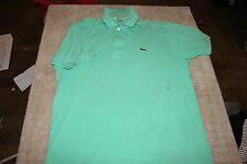 POLO - TEE SHIRT  **  LACOSTE  **  TAILLE 5 / L  - VERT CLAIR