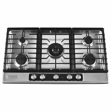 "KitchenAid 36"" 5-Burner Gas Cooktop Stainless Steel Architect Series II"