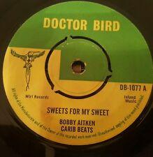 """Bobby Aitken Carib Beats Sweets For My Sweet Orig UK 7"""" Listen !"""