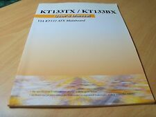 Azza user manual for KT133TX/KT133BX motherboard (about 50 pages)