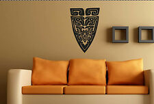 TRIBAL WALL ART no5. Custom decal vinyl sticker Large Aztec Mayan Mural transfer