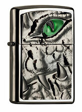 Zippo Crocodile Krokodil Eye Green limited Edition, limitiert 2004774 xxx/1000