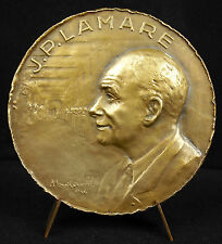 Médaille Jean-Paul Lamarre chirurgien maire de Saint-Germain-en-Laye 1946 Medal