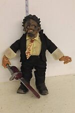 Mezco Leatherface in suit Plush Figure LOOSE